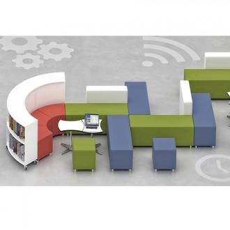 Canapé scolaire en cuir synthétique - Devis sur Techni-Contact.com - 3