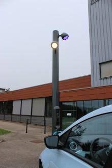 Candélabre de recharge pour véhicule électrique - Devis sur Techni-Contact.com - 2