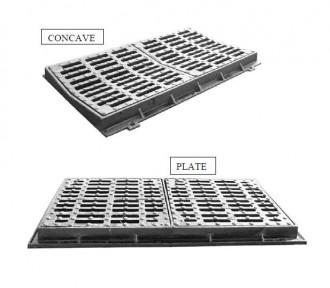 Caniveau en double grille D 400 - Devis sur Techni-Contact.com - 1
