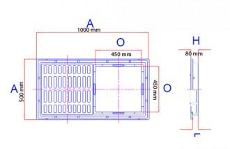 Caniveau en double grille D 400 - Devis sur Techni-Contact.com - 2