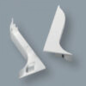 CAPUCHON GAUCHE POUR PLINTHE - LPTSX100 - Devis sur Techni-Contact.com - 1