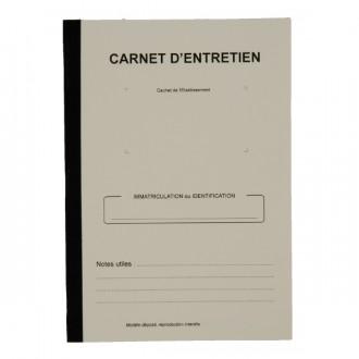 Carnet d'entretien véhicule - Devis sur Techni-Contact.com - 1