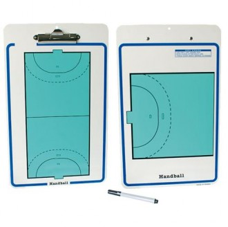 Carnet tactique recto/verso hand ball - Devis sur Techni-Contact.com - 1
