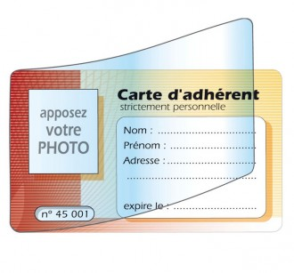Carte d'adhérent - Devis sur Techni-Contact.com - 3