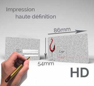 Carte d'adhérent plastique à écriture stylo - Devis sur Techni-Contact.com - 2