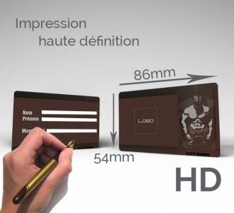 Carte d'adhérent plastique à écriture stylo - Devis sur Techni-Contact.com - 3