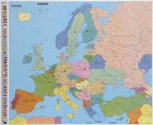 Carte d'Europe MICHELIN - Devis sur Techni-Contact.com - 1
