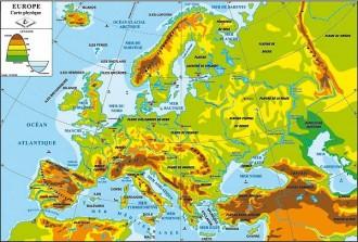 Carte de l'Europe des 27 - Devis sur Techni-Contact.com - 2