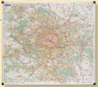 Carte de Paris et sa banlieue MICHELIN - Devis sur Techni-Contact.com - 1