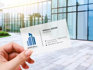Carte de visite papier calque - Devis sur Techni-Contact.com - 2