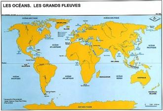 Carte du monde 70 x 102 - Devis sur Techni-Contact.com - 2