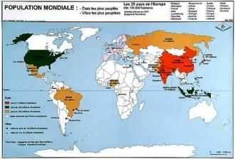 Carte du monde 70 x 102 - Devis sur Techni-Contact.com - 5