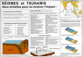 Carte du monde des séismes et tsunamis - Devis sur Techni-Contact.com - 2