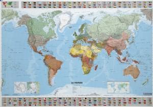 Carte du monde MICHELIN - Devis sur Techni-Contact.com - 1