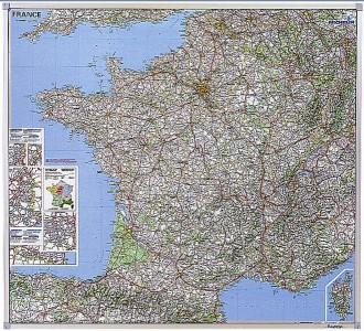Carte routière de France - Devis sur Techni-Contact.com - 1