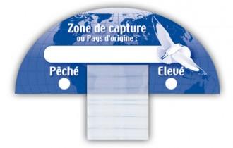 Carte zone de capture poissons - Devis sur Techni-Contact.com - 1
