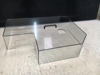 Carter de protection en polycarbonate pour machine - Devis sur Techni-Contact.com - 1