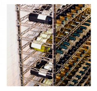 Casier à vin en acier chromé - Devis sur Techni-Contact.com - 2