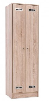Casier vestiaire en bois stratifié - Devis sur Techni-Contact.com - 1