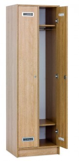 Casier vestiaire en bois stratifié - Devis sur Techni-Contact.com - 2