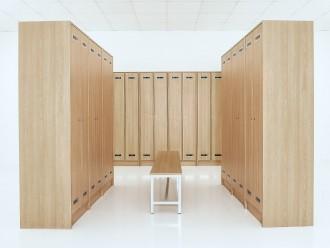 Casier vestiaire en bois stratifié - Devis sur Techni-Contact.com - 3