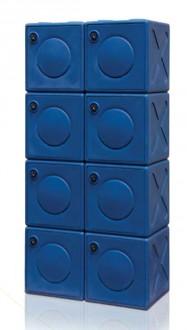 Casier vestiaire en polyéthylène - Devis sur Techni-Contact.com - 2