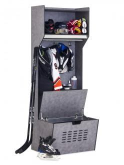 Casier vestiaire hockey en HPL - Devis sur Techni-Contact.com - 2