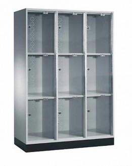 Casier vestiaire porte verre acrylique - Devis sur Techni-Contact.com - 1