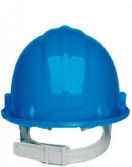 Casque de chantier bleu - Devis sur Techni-Contact.com - 1