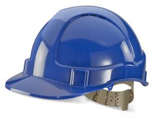 Casque de sécurité ventilé bleu - Devis sur Techni-Contact.com - 1