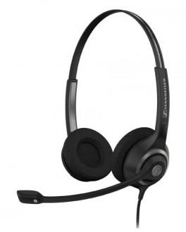 Casque filaire 2 écouteurs câble 1 mètre - Devis sur Techni-Contact.com - 1