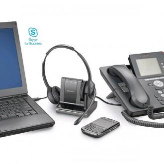 Casque sans fil Plantronics Savi 720 UC MS Duo - Devis sur Techni-Contact.com - 4