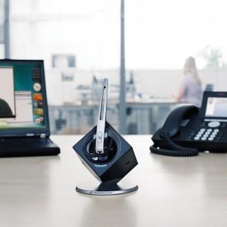 Casque sans fil Sennheiser DW Office UC Mono - Devis sur Techni-Contact.com - 5