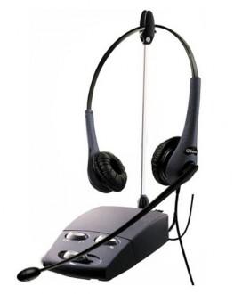 Casque téléphonique GN 2200 duo silver - Devis sur Techni-Contact.com - 1