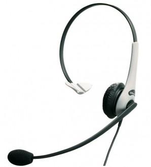 Casque téléphonique GN 2200 Mono Silver Antibruit - Devis sur Techni-Contact.com - 1