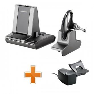 Casque téléphonique sans fil Plantronics Savi Office WO200 + levier de décroché à distance - Devis sur Techni-Contact.com - 1
