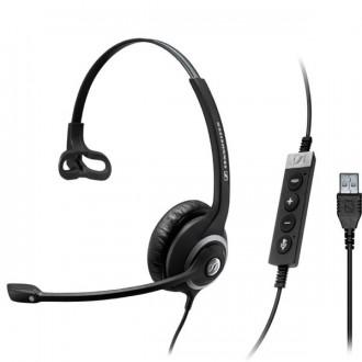 Casque téléphonique Sennheiser SC230 USB UC Mono - Devis sur Techni-Contact.com - 1
