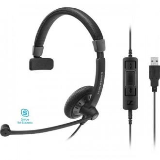 Casque téléphonique Sennheiser SC45 USB UC MS Mono - Devis sur Techni-Contact.com - 1