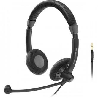 Casque téléphonique Sennheiser SC75 JACK Duo - Devis sur Techni-Contact.com - 1