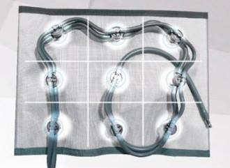 Ceinture abdominale 9 cellules pour pressotherapie pulstar psx - Devis sur Techni-Contact.com - 1