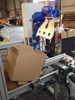 Cellule robotisée d'emballage - Devis sur Techni-Contact.com - 1