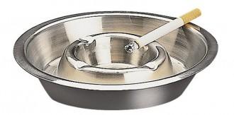 Cendrier en inox empilable 14 cm - Devis sur Techni-Contact.com - 1