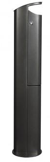 Cendrier sur pied 2,5L - Devis sur Techni-Contact.com - 9