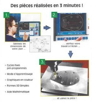 Centre d'usinage CNC 71 MB et 81 MB - Devis sur Techni-Contact.com - 2