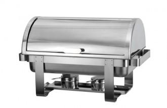 Chafing dish à couvercle rabattable - Devis sur Techni-Contact.com - 1
