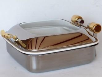 Chafing dish carré à induction - Devis sur Techni-Contact.com - 4