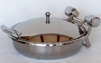 Chafing dish rond à induction - Devis sur Techni-Contact.com - 1