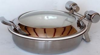 Chafing dish rond à induction - Devis sur Techni-Contact.com - 2