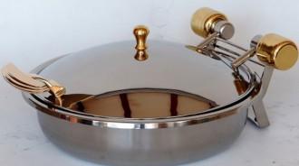 Chafing dish rond à induction - Devis sur Techni-Contact.com - 3