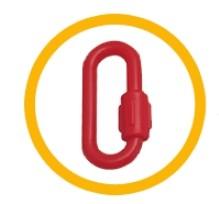 Chaîne en plastique poteau de guidage - Devis sur Techni-Contact.com - 2
